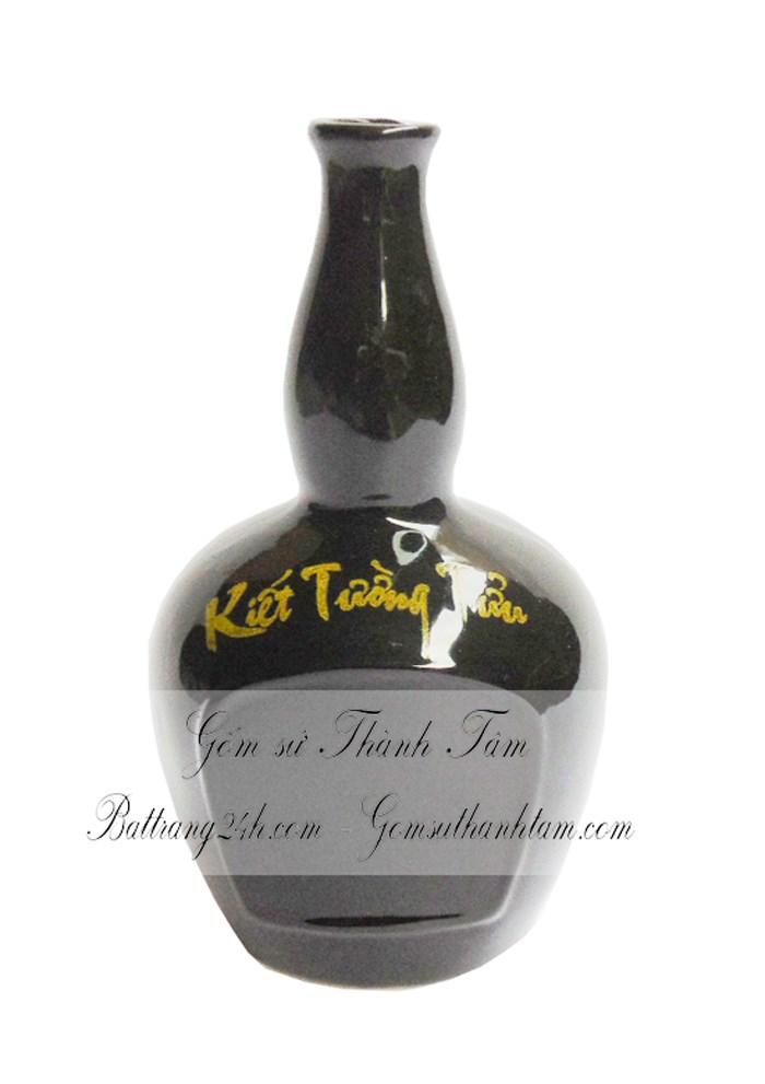 Bình ngấm rượu gốm sứ bát tràng cao cấp